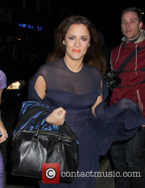 caroline flack sony music aftershow at the 3517016