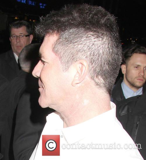 simon cowell sony music aftershow at the 3517006