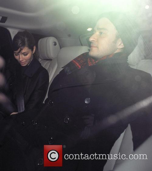 Justin Timberlake and Jessica Biel 7