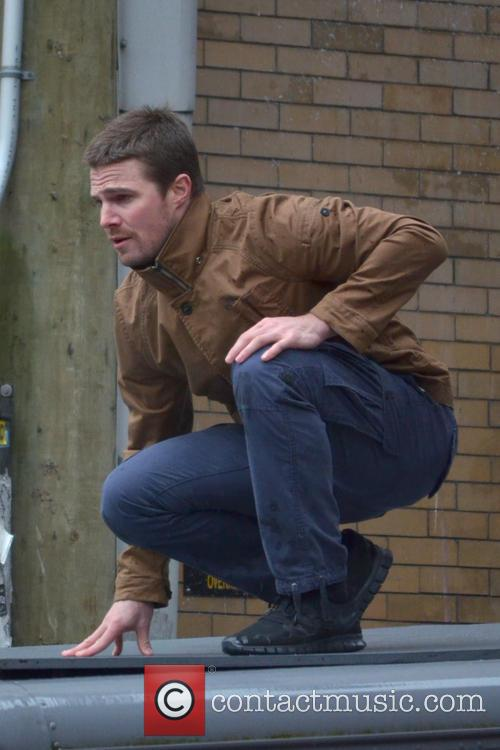 Stephen Amell from 'Arrow'