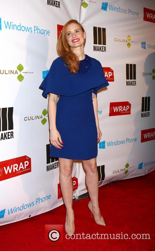 jessica chastain the wrap pre oscar party 3517137