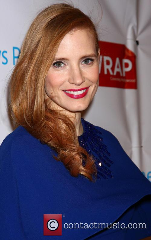 Jessica Chastain, Culina at the Four Seasons Hotel