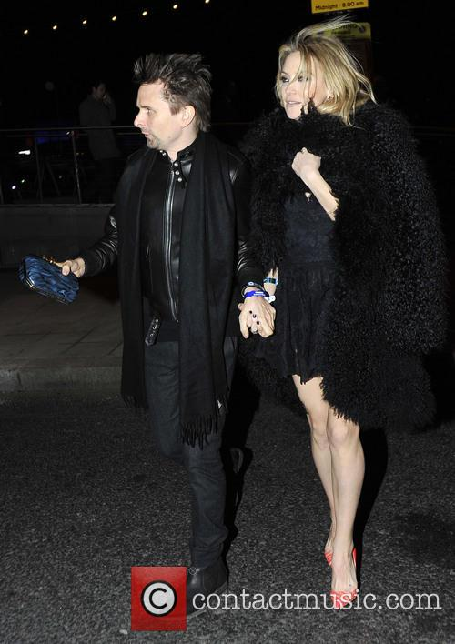 Matthew Bellamy and Kate Hudson 3
