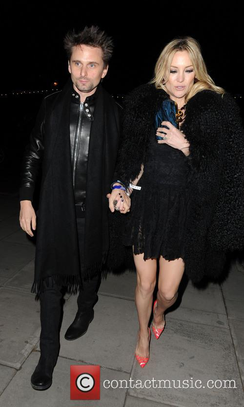 Matthew Bellamy, Kate Hudson, London, The Brit Awards