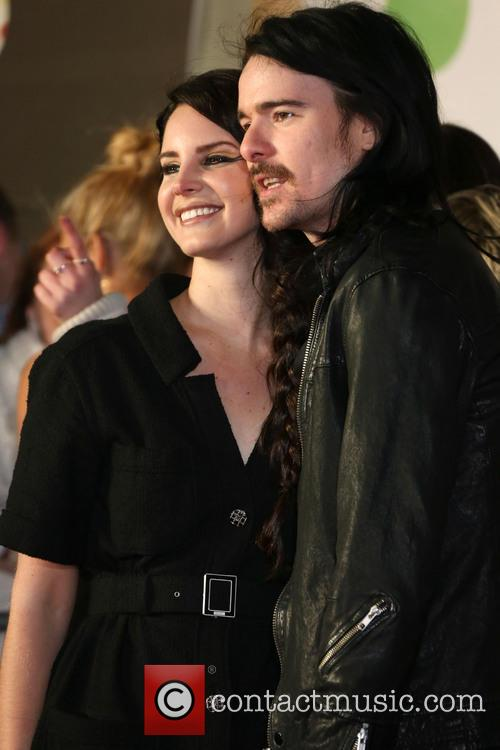 Lana Del Rey and Boyfriend Barrie-james O'neill