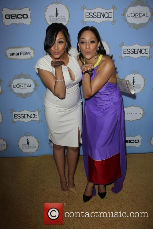 Tamera Mowry and Tia Mowry 2