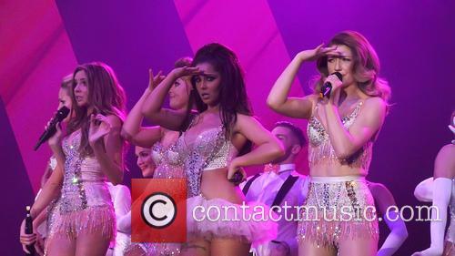 Girls Aloud, Nadine Coyle, Cheryl Cole and Nicola Roberts 1