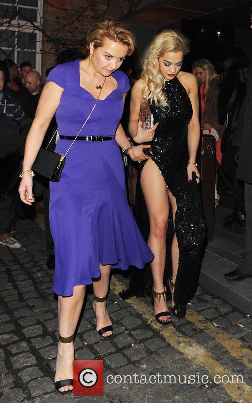 Rita Ora and Vera Sahatciu 1