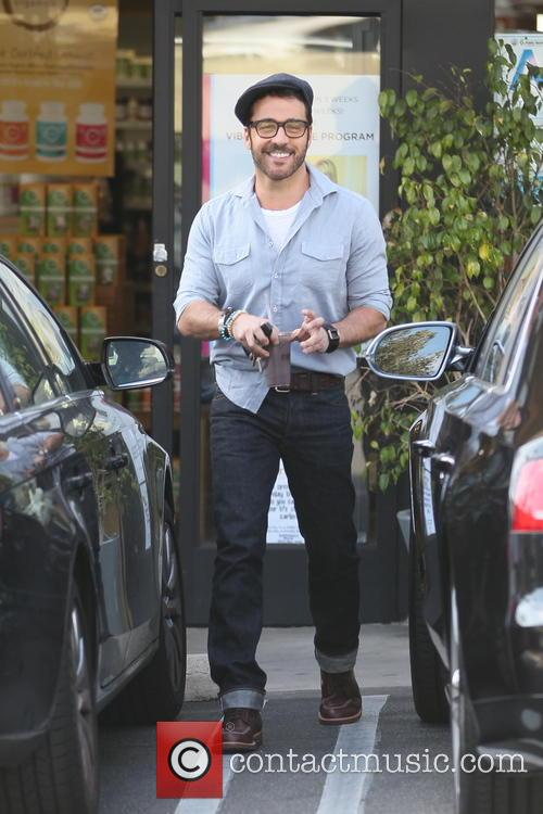 Jeremy Piven seen out getting a health shake in West Hollywood