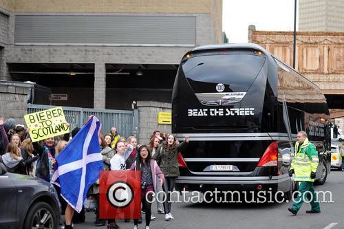 Justin Bieber Tour Bus