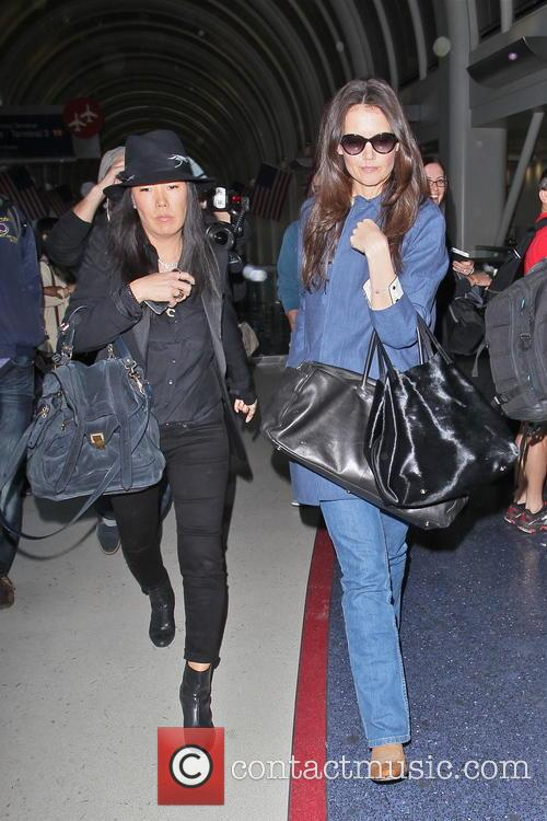 katie holmes katie holmes arriving at lax 3518162