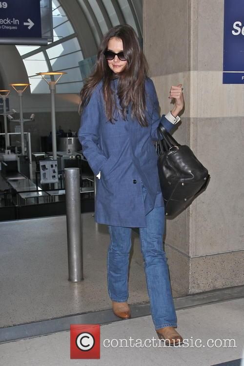 katie holmes katie holmes arriving at lax 3518164
