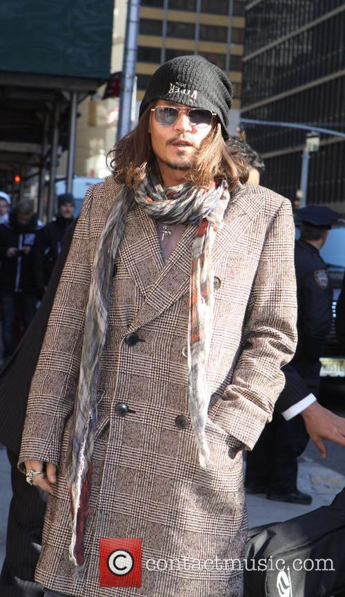 Johnny Depp, Ed Sullivan Theatre