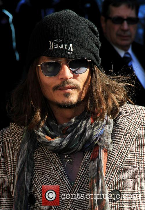 Johnny Depp, Ed Sullivan Theatre