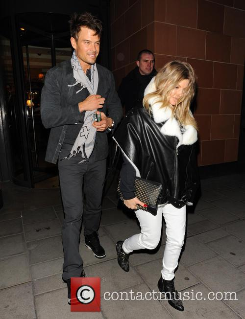 Josh Duhamel and Stacy Ferguson - Fergie At C London reastaurant - London, United Kingdom -