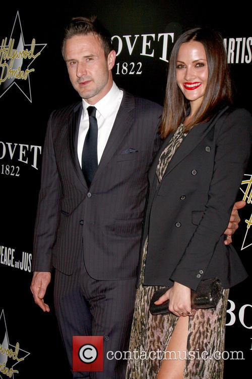 David Arquette and Christina Mclarty 2