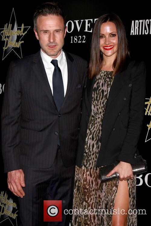 David Arquette and Christina Mclarty 1