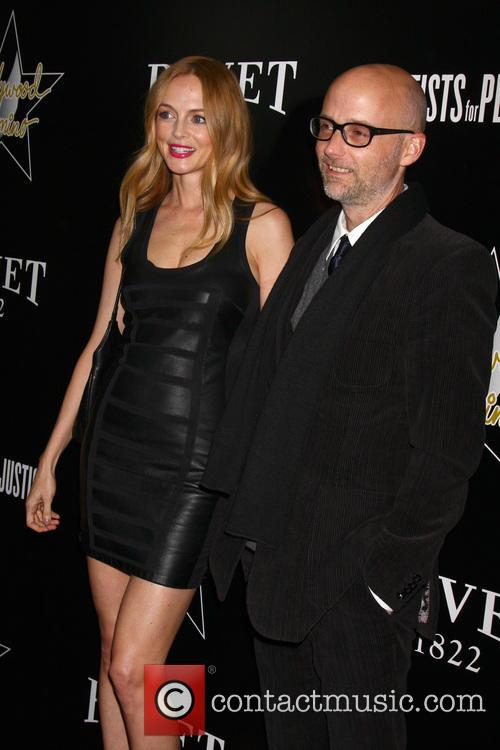 Heather Graham and Moby 2