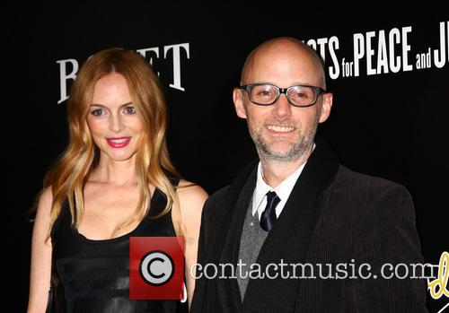 Heather Graham and Moby 3