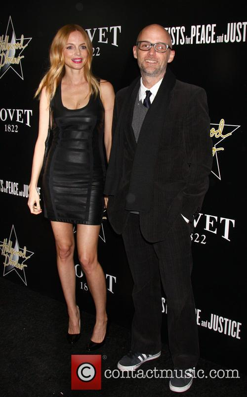 Heather Graham and Moby 4