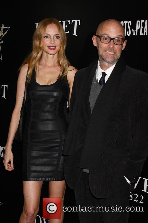 Heather Graham and Moby 1