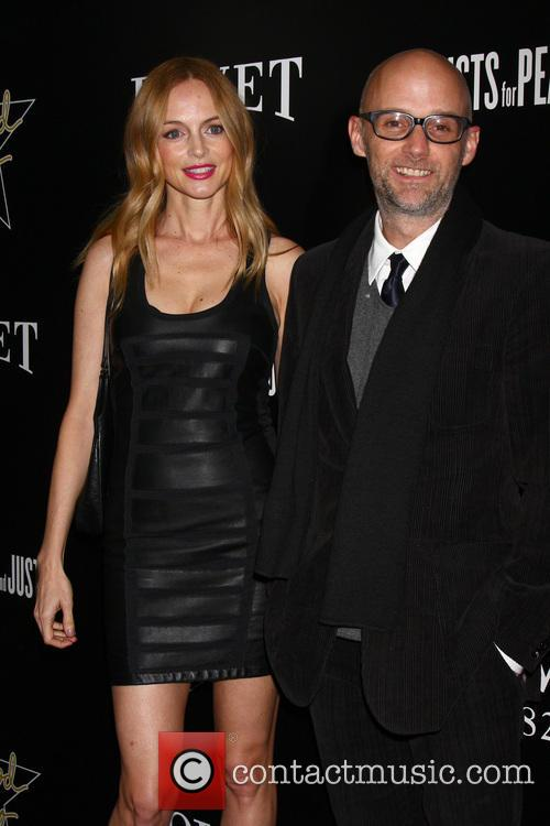 Heather Graham and Moby 5