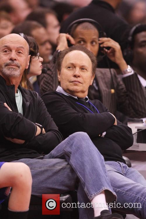 billy crystal celebrities attend the la clippers 3519932