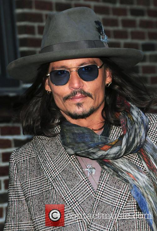 Johnny Depp, The Late Show