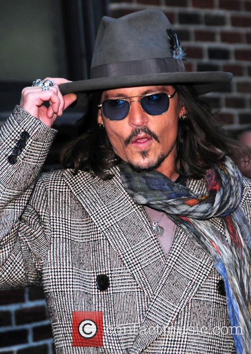 johnny depp the late show with david 3519346