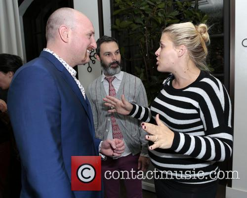 Michael Sucsy, Marc Silverstein and Busy Philipps 1