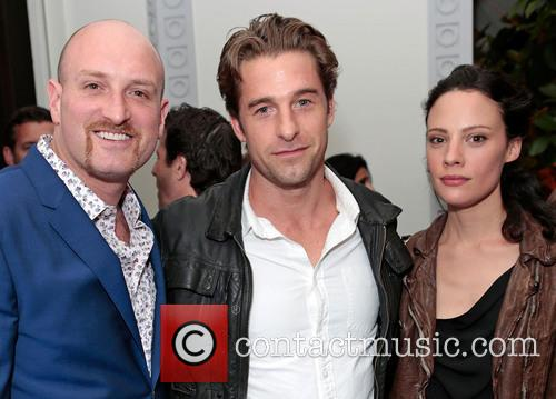 Scott Speedman, Michael Sucsy and Camille De Pazzis 3