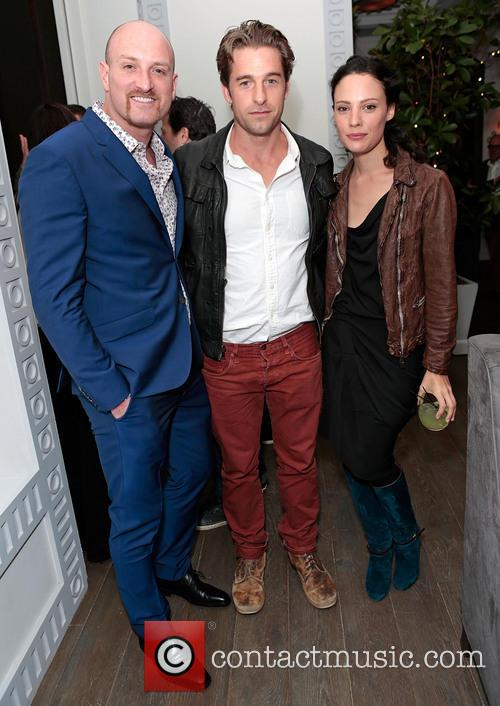 Scott Speedman, Michael Sucsy and Camille De Pazzis 6