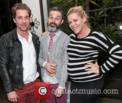 Scott Speedman, Marc Silverstein and Busy Philipps 4