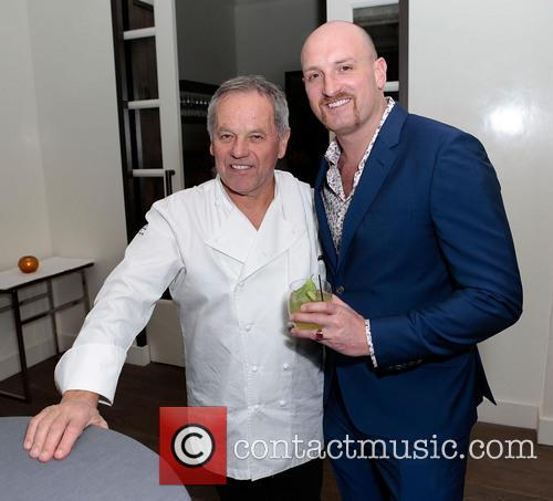 Wolfgang Puck and Michael Sucsy 1