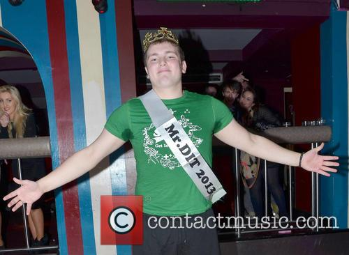 Mark Ronan is crowned Mr. DIT 2013