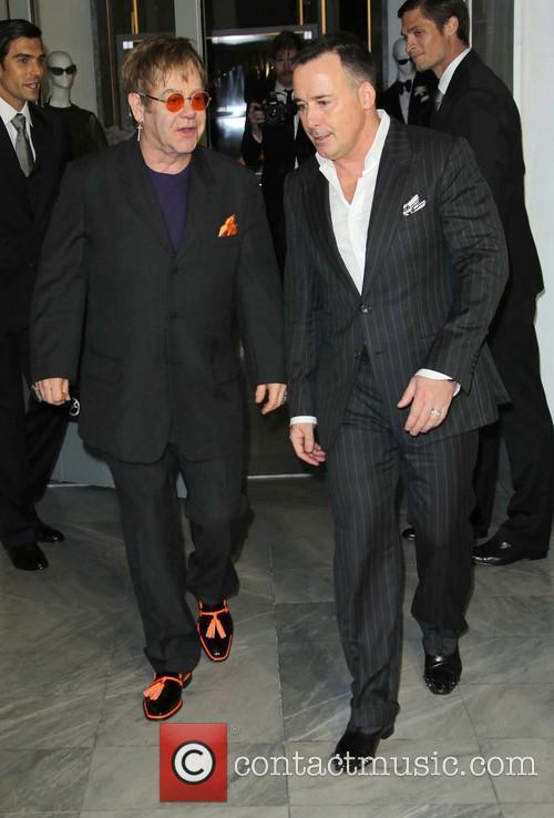 Sir Elton John, David Furnish and TOM FORD 3