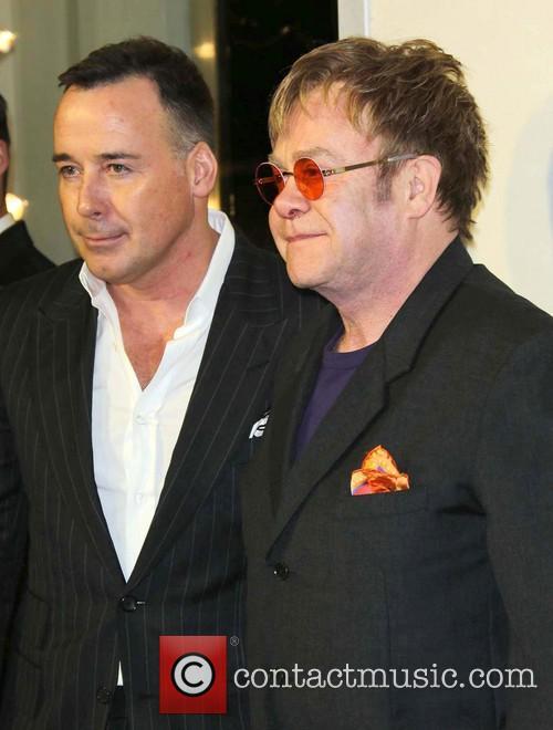 Sir Elton John, David Furnish and TOM FORD 4