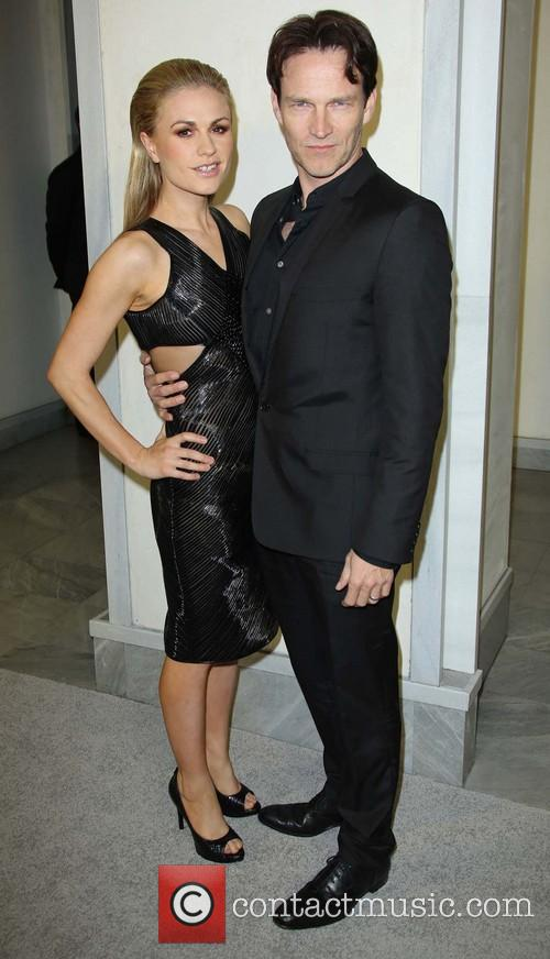 Stephen Moyer and Anna Paquin 5