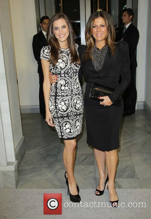 Allison Williams and Rita Wilson 1