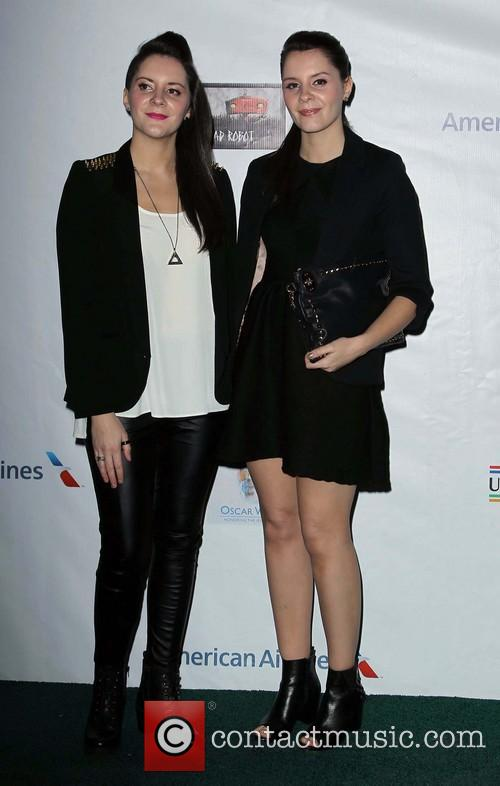 Colin Farrell, Ellie Macnamara and Louise Macnamara 3