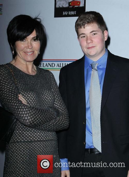 Colin Farrell and Hylda Queally With Her Son 6