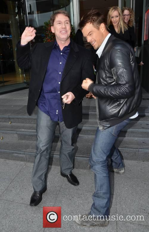 Josh Duhamel and Nicholas Sparks