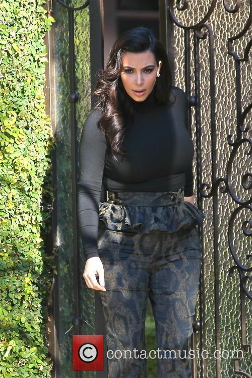Kim Kardashian and Kim Kardashain 5