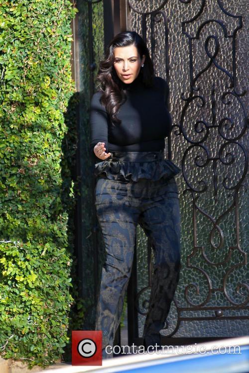 Kim Kardashian and Kim Kardashain 9