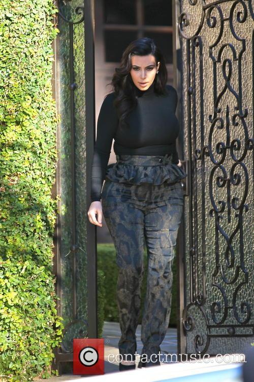 Kim Kardashian and Kim Kardashain 10