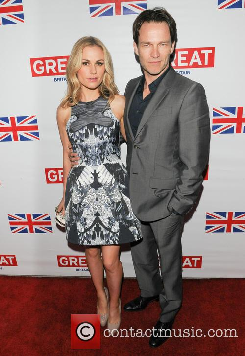 Anna Paquin and Stephen Moyer 2