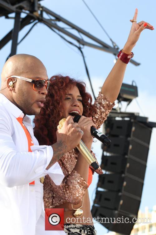 Flo Rida, Natalie La Rose, Miami Beach