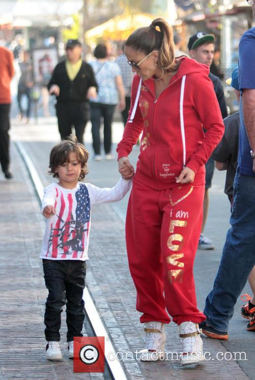 Jennifer Lopez and Maximilian Anthony 5
