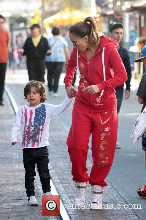 Jennifer Lopez and Maximilian Anthony 15