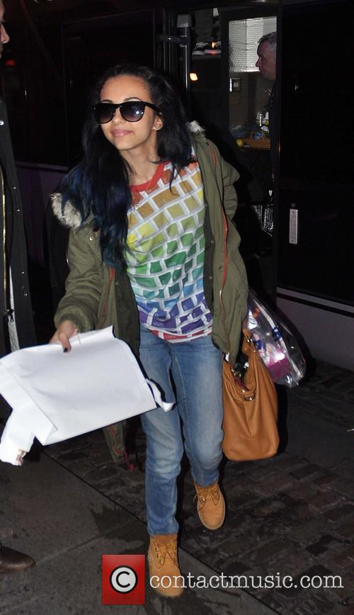 jade thirlwall little mix arriving at their 3520360